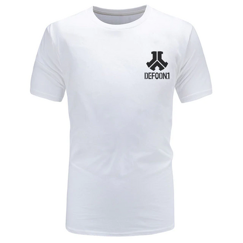 T-Shirt Defqon.1 Pure Cotton blanc
