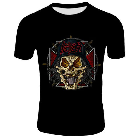 T-Shirt Rock Metal Festival - Slayer Skull