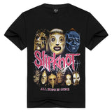 T-Shirt Metal Slipknot Festival