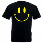 T-Shirt Smiley Face - T-Shirt Acid 90'S Retro Rave Festival