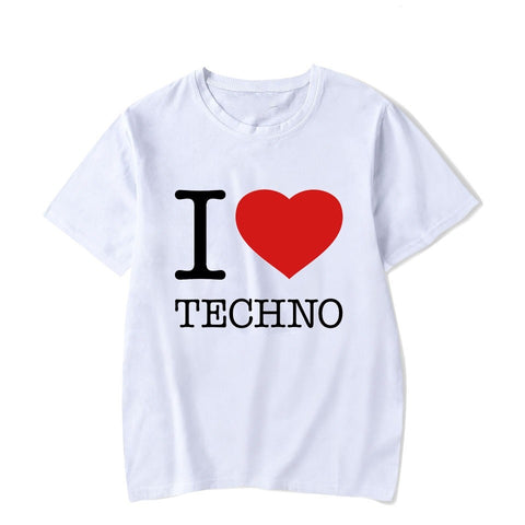 T-Shirt Homme I LOVE ♥ Techno