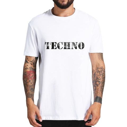 T-Shirt Homme Techno Simple