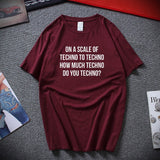 T-Shirt Homme Do You Techno