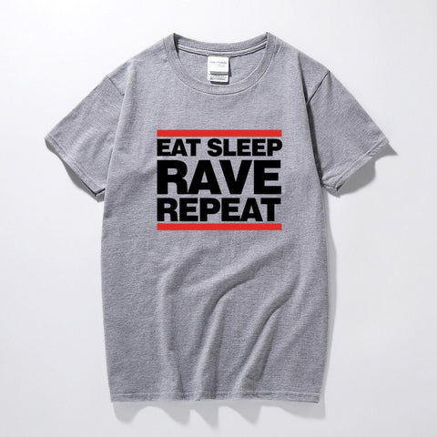 T-Shirt Homme EAT SLEEP RAVE REPEAT