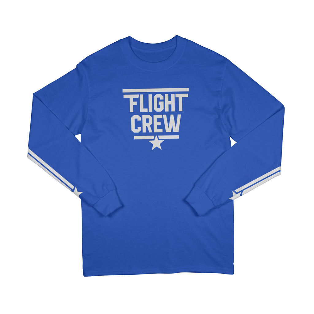FLIGHT CREW LONG SLEEVE - ROYAL BLUE