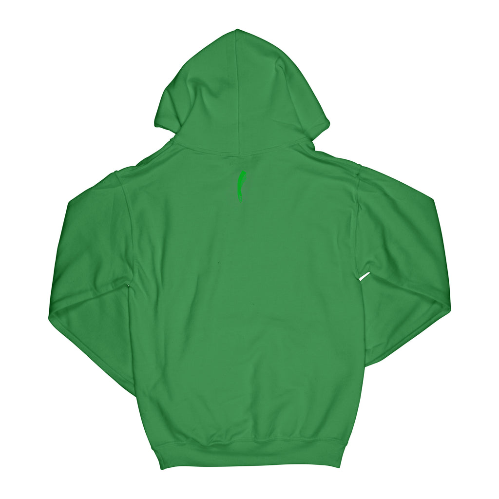 IRISH CLOVER HOODIE - IRISH GREEN