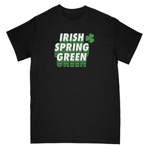 IRISH CLOVER TEE - BLACK