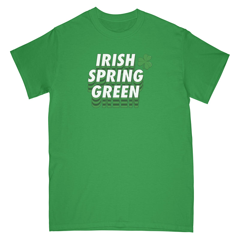 IRISH CLOVER TEE - IRISH GREEN