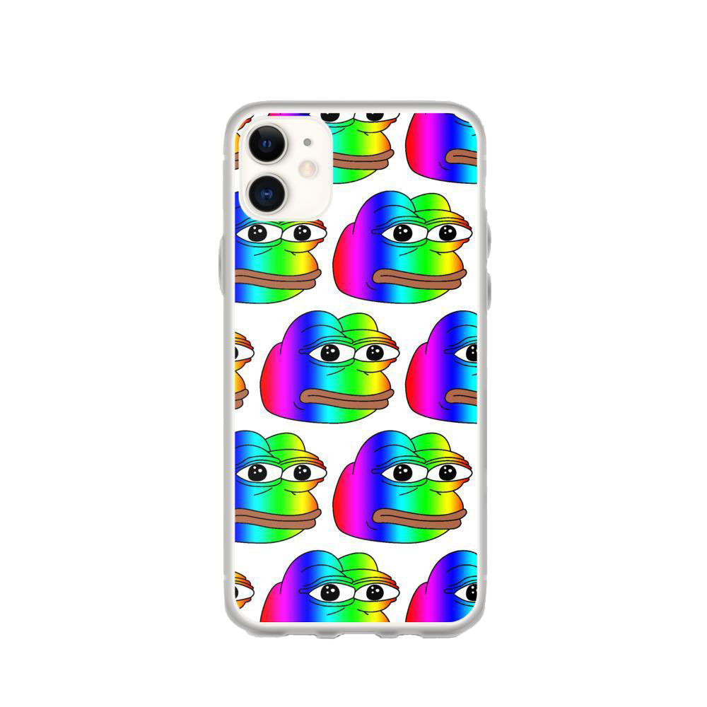 Rainbow Pepe Phone Case