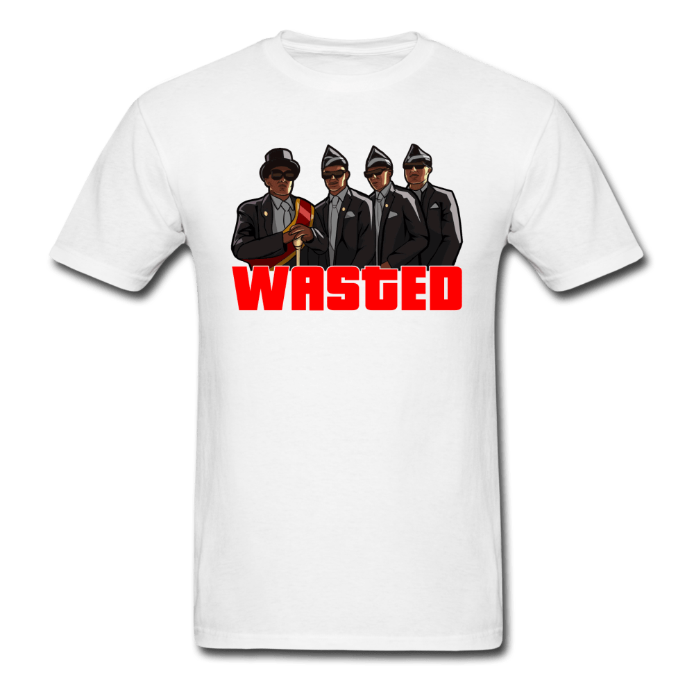 Coffin Dance Wasted T-Shirt - Dank Meme Merch