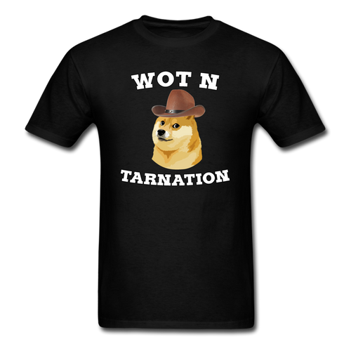 Wot N Tarnation - black