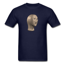 Load image into Gallery viewer, Stonks Man T-Shirt - navy