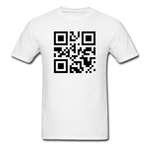 Send Nudes QR Code T-Shirt - Dank Meme Merch
