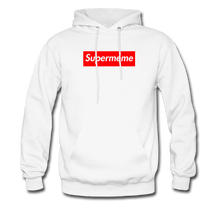 Load image into Gallery viewer, Supermeme Box Logo Hoodie - white