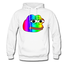 Load image into Gallery viewer, Rainbow Pepe Hoodie - Dank Meme Merch