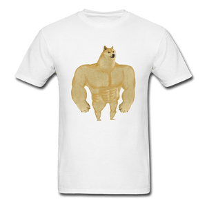Swole Doge T-Shirt - Dank Meme Merch