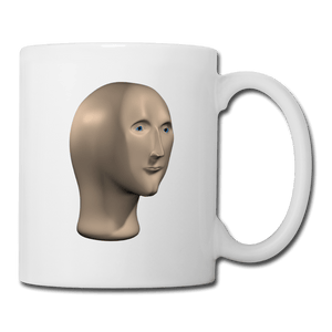 Stonks Man Coffee Mug - Dank Meme Merch