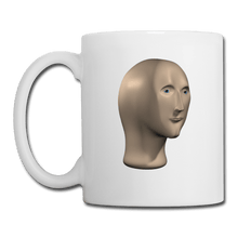 Load image into Gallery viewer, Stonks Man Coffee Mug - white