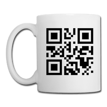 Load image into Gallery viewer, Send Nudes QR Code Coffee Mug - white