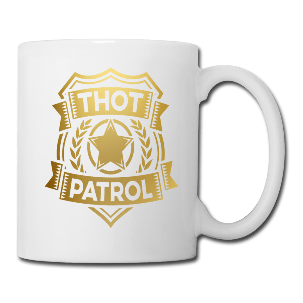 Thot Patrol Coffee Mug - Dank Meme Merch