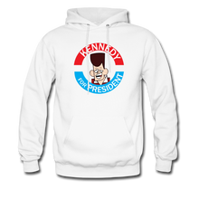 Load image into Gallery viewer, Clone Kennedy For President Hoodie - white