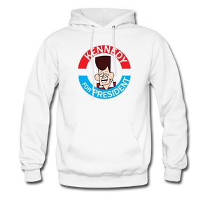 Clone Kennedy For President Hoodie - white