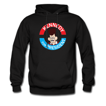 Load image into Gallery viewer, Clone Kennedy For President Hoodie - black