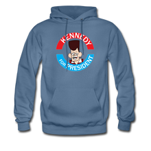 Load image into Gallery viewer, Clone Kennedy For President Hoodie - denim blue