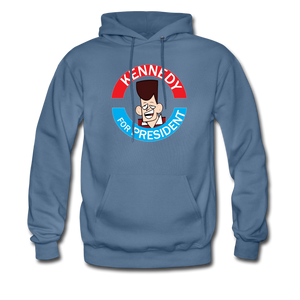 Clone Kennedy For President Hoodie - denim blue