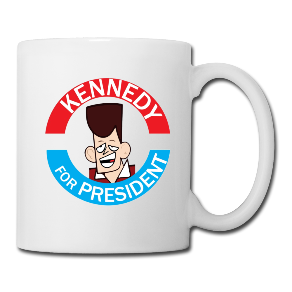 Clone Kennedy For President Coffee Mug - white
