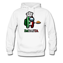 Load image into Gallery viewer, Impasta Hoodie - white
