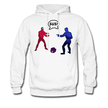 Load image into Gallery viewer, Sus Meme Hoodie - white