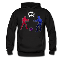 Load image into Gallery viewer, Sus Meme Hoodie - black