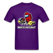 Load image into Gallery viewer, Wait It's All Cake? T-Shirt - purple