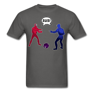 Sus Meme T-Shirt - charcoal