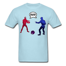 Load image into Gallery viewer, Sus Meme T-Shirt - powder blue