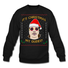 Load image into Gallery viewer, It's Wednesday My Dudes Ugly Christmas Sweater - black
