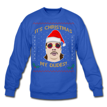 Load image into Gallery viewer, It's Wednesday My Dudes Ugly Christmas Sweater - royal blue