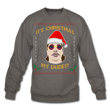Load image into Gallery viewer, It's Wednesday My Dudes Ugly Christmas Sweater - asphalt gray
