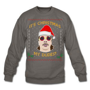 It's Wednesday My Dudes Ugly Christmas Sweater - asphalt gray