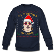 Load image into Gallery viewer, It's Wednesday My Dudes Ugly Christmas Sweater - navy
