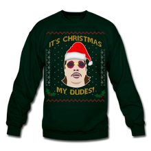 Load image into Gallery viewer, It's Wednesday My Dudes Ugly Christmas Sweater - forest green
