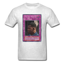 Load image into Gallery viewer, Yee Yee Ass Haircut Trap Card T-Shirt - light heather gray