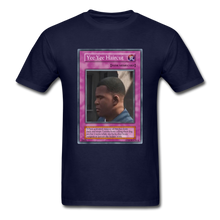 Load image into Gallery viewer, Yee Yee Ass Haircut Trap Card T-Shirt - navy
