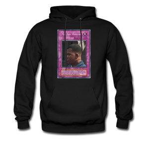 Yee Yee Ass Haircut Trap Card Hoodie - black