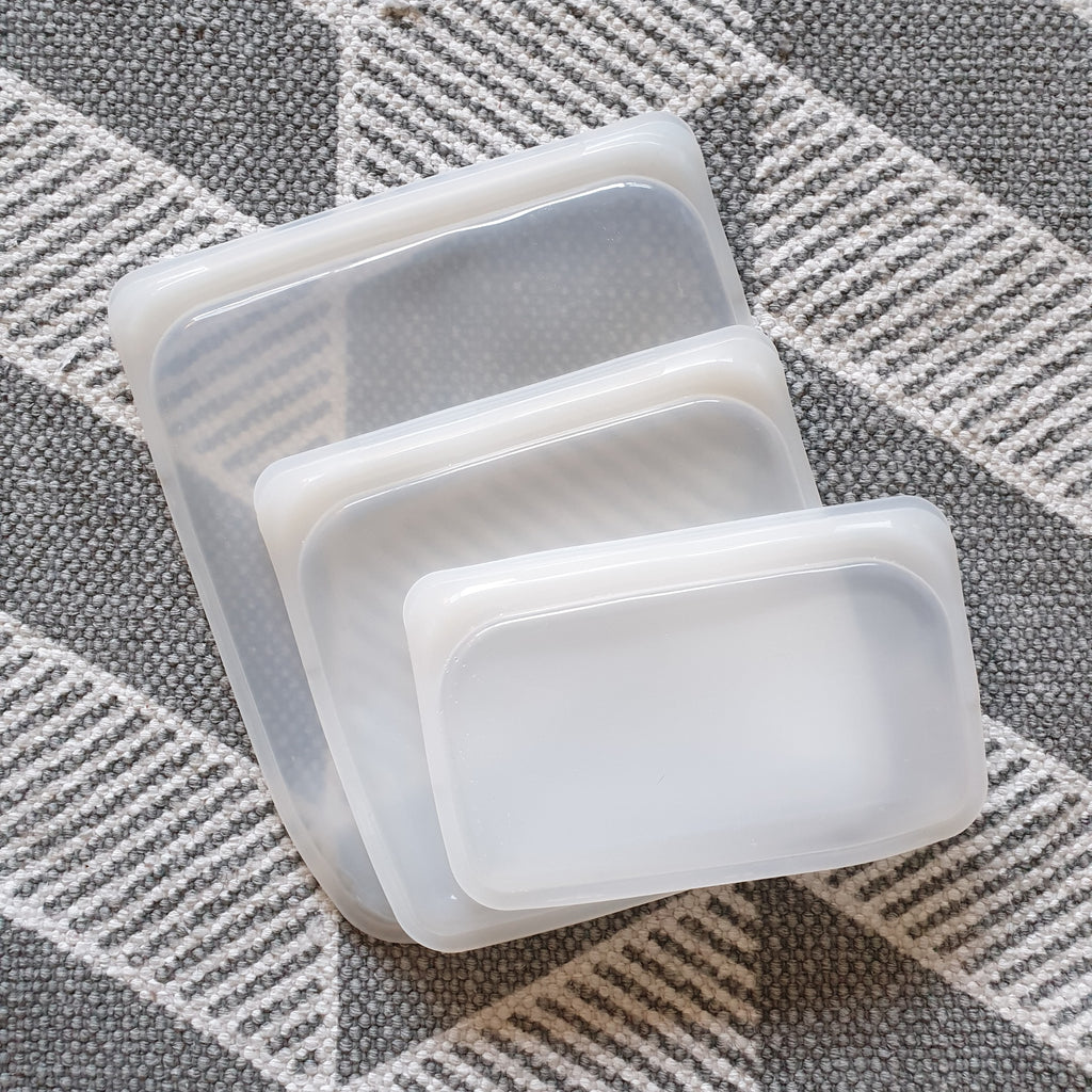 Set of 3 Reusable Silicone Bags