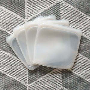 Set of 4 Medium Silicone Bags