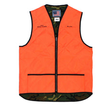 "Load image into Gallery viewer, 【50%OFF】SLON K-9 New York Crew Quilted Vest ""Orange&Woodland"""