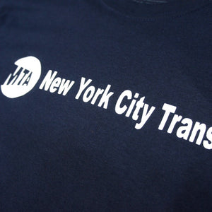 "MTA New York City Transit Official Tee ""Navy"""