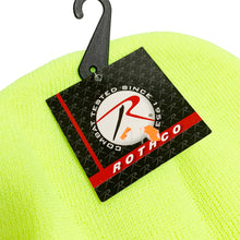 "Load image into Gallery viewer, 【50%OFF】DSNY New York City Department of Sanitation Official Employee Knit Beanie ""Neon Yellow"""
